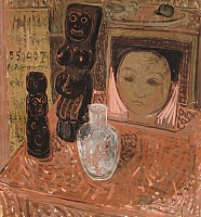 Still Life With portrait