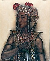 Balinese Actor as Radja In