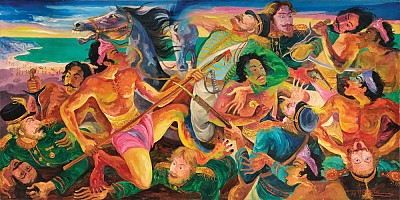 Buleleng War in Bali