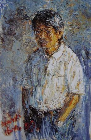 Portrait Of dr. Oei
